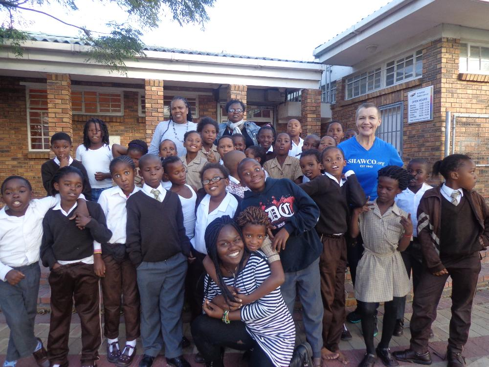 South Africa Student w/ Kids