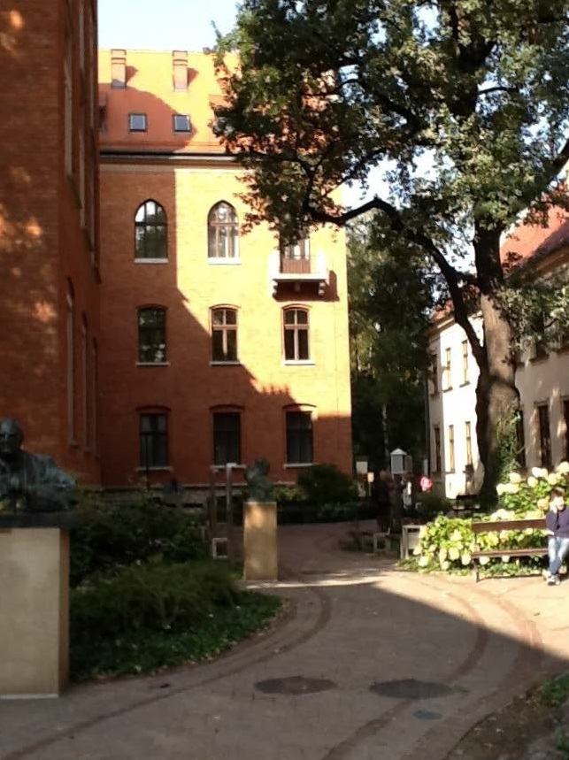 Jagiellonian University Courty